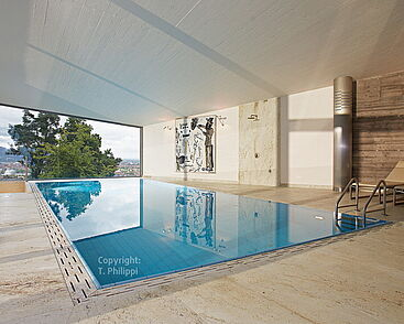 Private swimming pool in Southern Germany